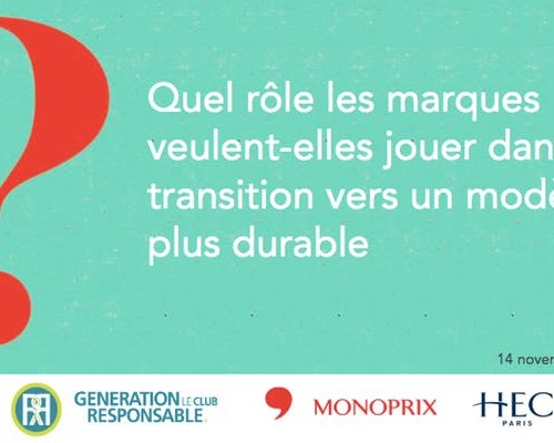Afterwork – Le marketing responsable : entre opportunisme & transformation / jeudi 14 novembre à 18h30