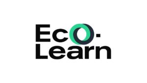 Eco-Learn logo foncé fond blanc