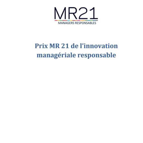 Inscriptions au prix MR21